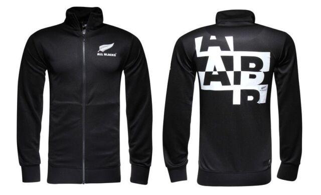 Essential Track Top All Blacks Zealand adidas Training Jacket 2016 17 Black XL
