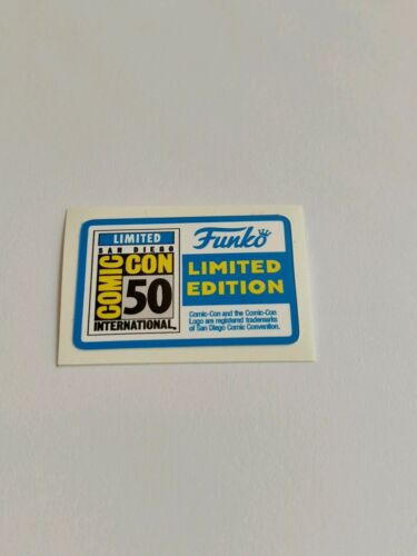 STICKER REPLACEMENT SDCC 2019 LIMITED EDITION FUNKO POP
