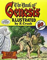 The Book Of Genesis Illustrated By R. Crumb By R. Crumb, (hardcover), W. W. Nort on Sale