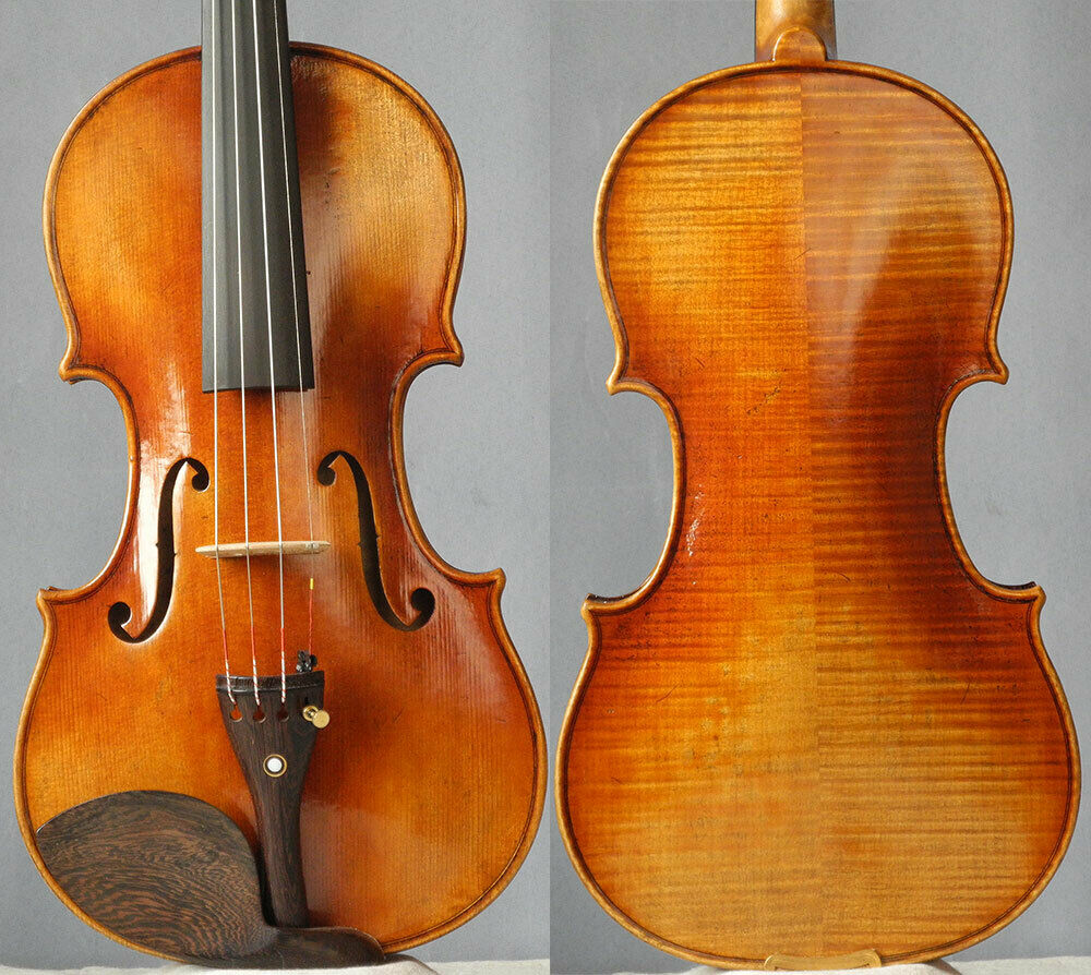 Meister handgefertigte Geigenfidel stradivari 4 4, professionelle europeanwood geige