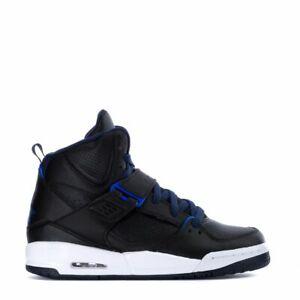 Details about Jordan FLIGHT 45 HIGH (GS) Boys Grade School BlackHyper Royal 845095 004 Shoes