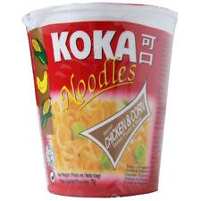 KOKA ORIENTAL STYLE INSTANT POT NOODLES CHICKEN & CORN FLAVOUR - 12 CUPS