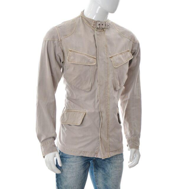 Big Star Jeans Denim Culture Herren Freizeit Jacke Größe M Medium beige Authentic