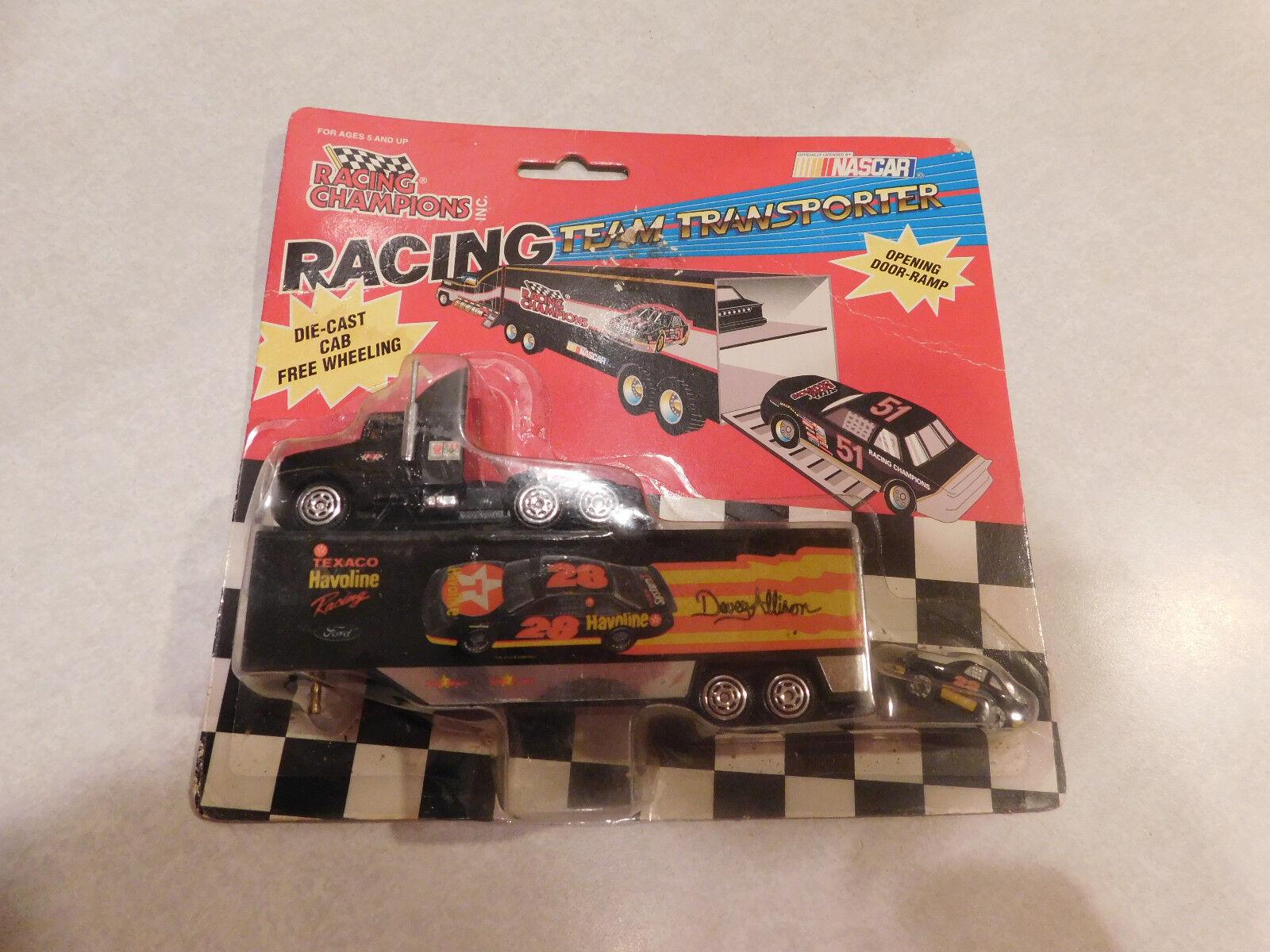 Racing Champions Racing Team Transporter Nascar Havoline Davey Allison