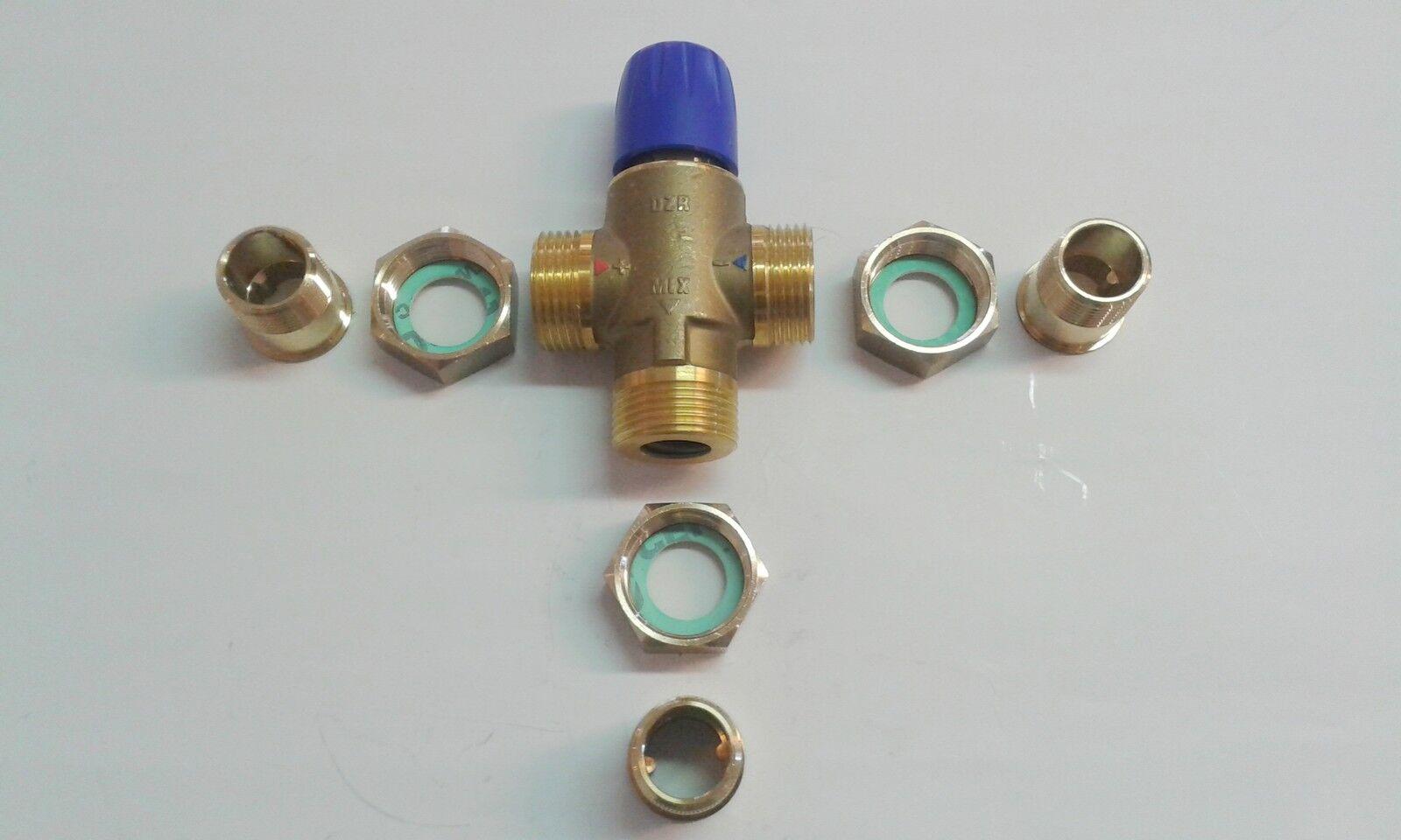 Taconova Brauchwasser Mischer Mischventil Brauchwassermischer Verbrühschutz