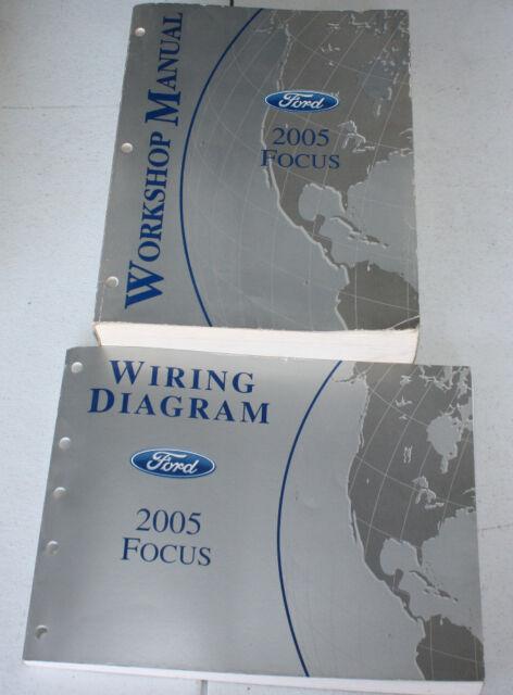 2005 Ford Focus Service Manual  U0026 Wiring Diagram