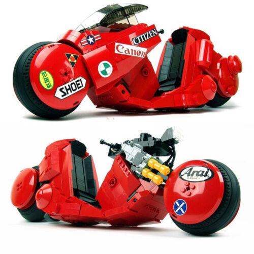 DREAM-CAR Lisa Argilla Akira Jintian Motorcycle Building Blocks 1143pcs no box