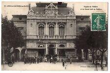 CPA 39 - LONS LE SAUNIER (Jura) - Façade du Théâtre et du Grand Café du Théâtre