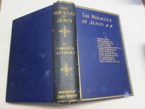 Acceptable-The-Miracle-of-Jesus-Selby-Thomas-G-Et-al-1903-01-01-Foxing-tan