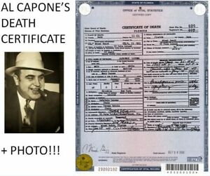 Al-Capone-Photo-DEATH-CERTIFICATE-Chicago-Prohibition-Gangster-Mobster