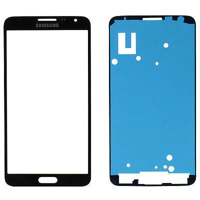 Samsung Galaxy Note 3 III Neo SM-N7505 Glas LCD Scheibe Display Schwarz + Kleber