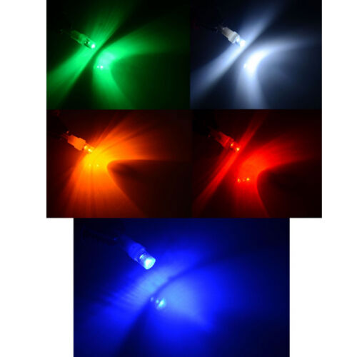 10X T5 Red Car LED Bulb Dashboard Indicator Side Light Lamp Bulb DC 12V Raised