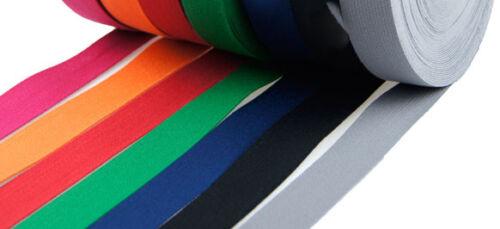 10m Baumwollgurtband Gurtband 30mm Taschengurtband freie Farbwahl Gürtel