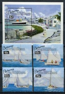 Alerte Bahamas 1994 Les Bateaux Regatta Voile Ships 834-837 Bloc 73 Cachet Neuf Sans Charnière-afficher Le Titre D'origine Forfaits à La Mode Et Attrayants