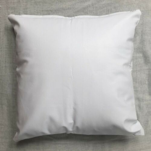 High Quality Handmade PVC Faux Leather Vinyl Cushion Cover FR BS7177 Many Sizes