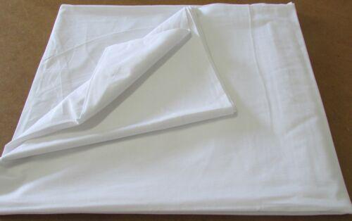 Désodorisant draps 160x280 DE VERNIS lisse pour Hôtel adapté NEUF coton blanc