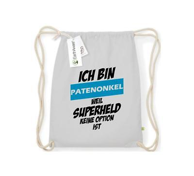 Turnbeutel Ich bin Patentante weil Superheldin keine Option ist