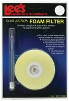 Lee's Round Dual-action Foam Filter, Fits Up To 5-gallon, New, Free Shipping on sale