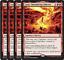 MTG 4x Jaya/'s Immolating Inferno 133//269 NM//M Dominaria RARE