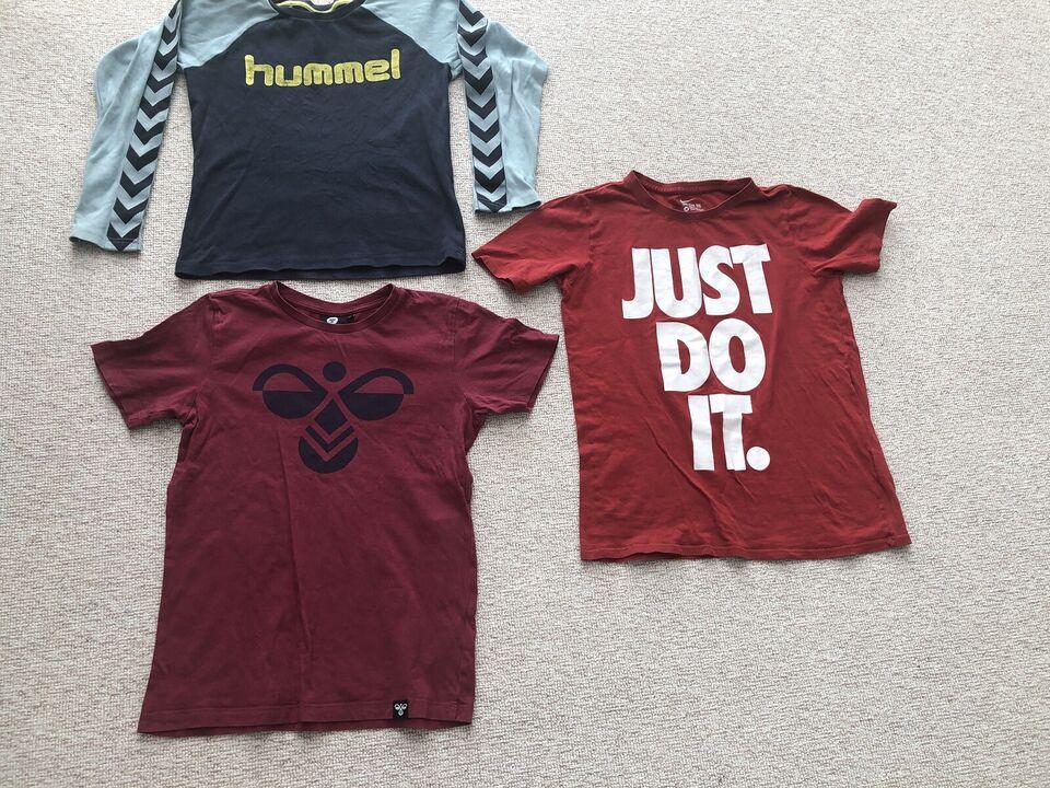 T-shirt, T-shirts og bluse, HUMMEL og NIKE
