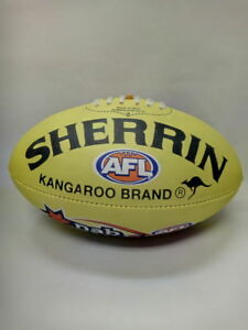AFL Auskick Sherrin Plastic Football