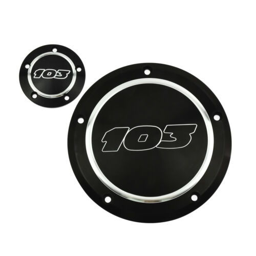 103 Derby Cover Timer Timing Cover Fit For Harley Touring 1999-/'15 Dyna /'99-/'17