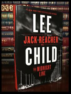 The-Midnight-Line-SIGNED-by-LEE-CHILD-New-Jack-Reacher-Hardback-1st-Ed-amp-Print