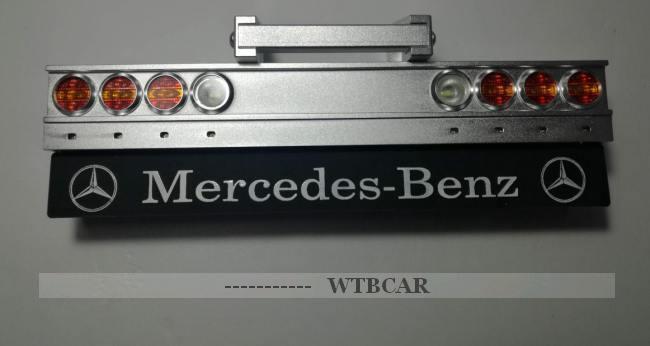 2018 LED signal light set w   rear bumper for tamiya 1 14 Mercedes Benz Actros  migliore qualità