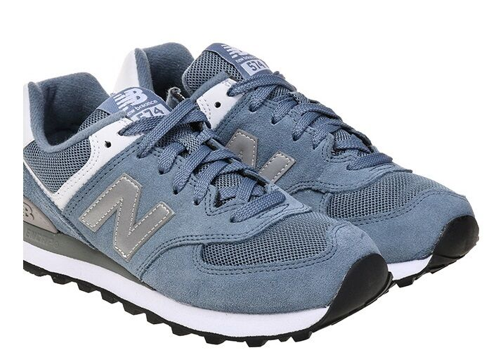 New Balance femmes  Running  Chaussures  (WL574SBG) bleu Fashion Sneakers Casual  Chaussures