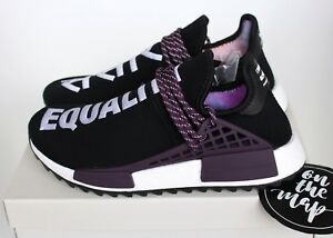 e8954ab562f38 Adidas Pharrell Human Race HU Holi NMD Trail Black Purple UK 5 7 8 9 ...