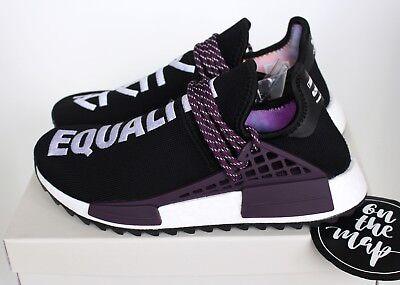 Adidas Pharrell Human Race HU Holi NMD Trail Black Purple UK 5 7 8 9 11 US New   eBay