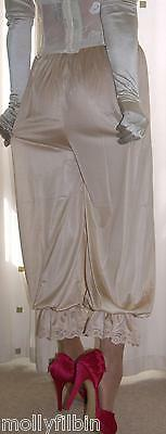 Vintage inspired Victorian~Edwardian style gold bloomers~pettipants~culottes