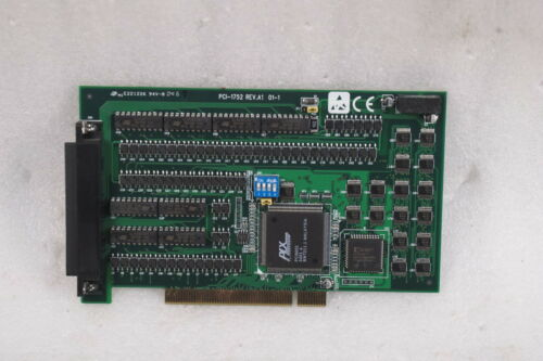 ADVANTECH  PCB CARD PCI-1752 REV.A1 01-1 FREE SHIP