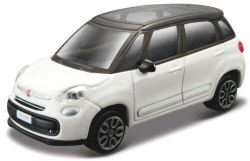 Fiat 500 L année-modèle 2013 Blanc échelle 1:43 de Bburago Street Fire