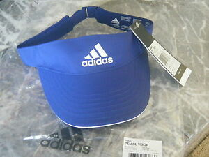 e7f9c61b Image is loading NWT-WOMENS-adidas-ClimaLite-Visor -Adjustable-Tennis-Running-