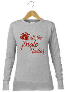 B0291 - All The Jingle Ladies Printed Christmas Jumper