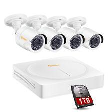 Bunker Hill Security 8 Channel Surveillance DVR W/ 4 Cameras 62463