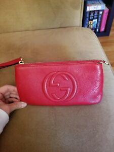 Gucci-Soho-Clutch-Bag-Red