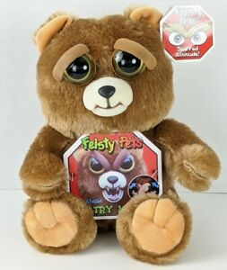 Feisty Pets Plush Bear Stuffed Attitude Doll Kids Toys Funny and scary dolls