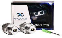 BMW E90 E91 3er 40 Watt LED Angel Eyes Cree Chip Marker Corona Ringe a3