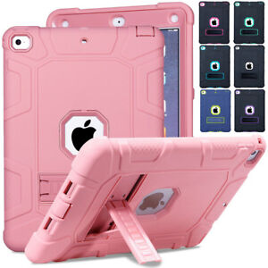 For-New-iPad-9-7-2018-6th-Gen-Shockproof-Heavy-Duty-Rubber-Hard-Stand-Case-Cover