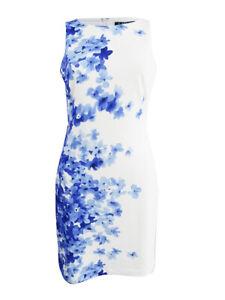 Lauren-by-Ralph-Lauren-Women-039-s-Floral-Print-Crepe-Dress