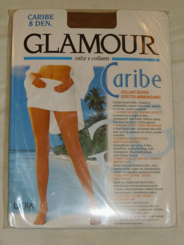 Italian 8 Denier transparent tights summer tanning effect designer pantyhose new