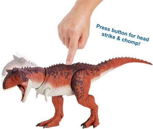 Jurassic World Action Attaque Carnotaurus Modèle