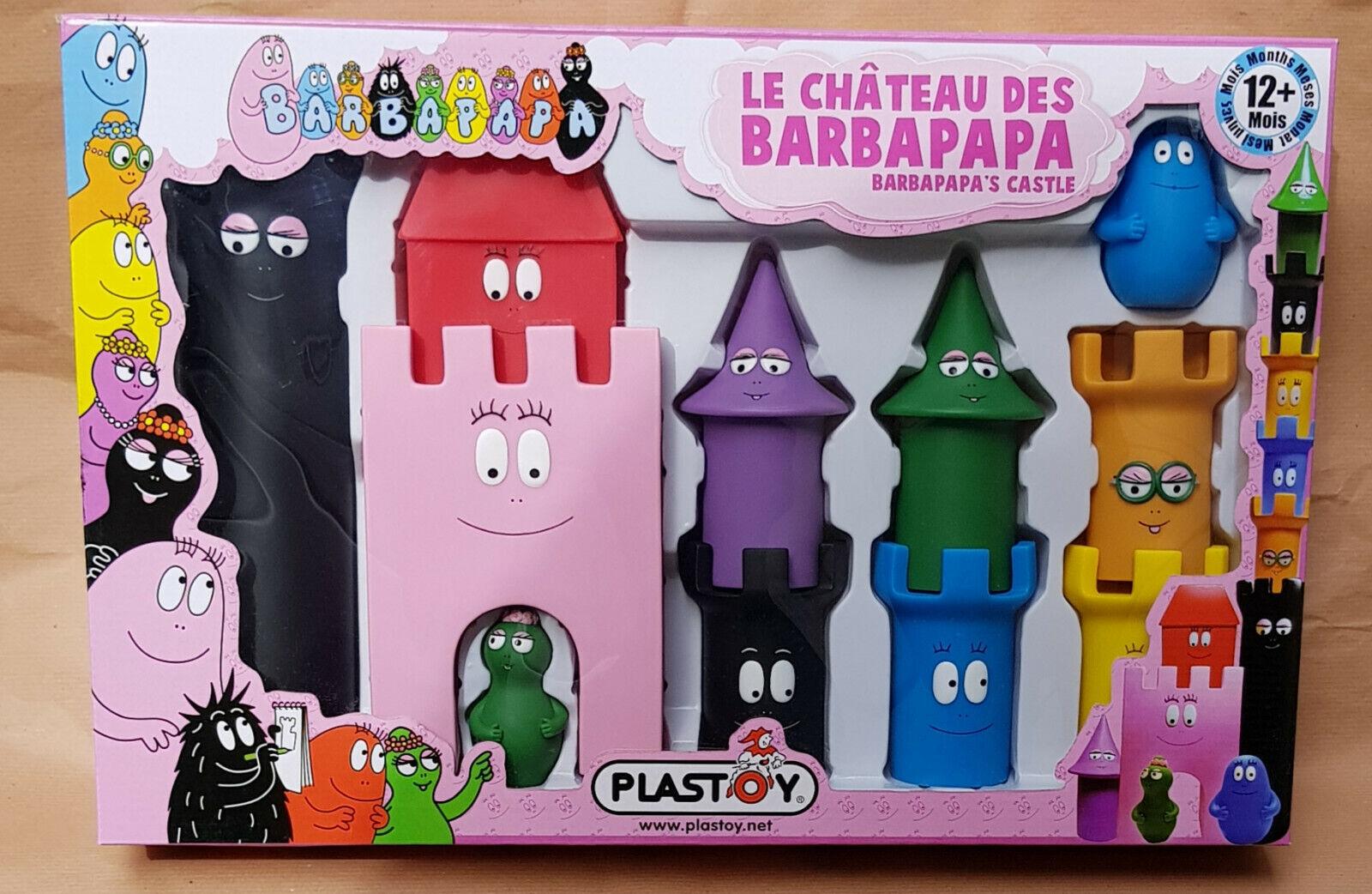 PLASTOY 60821-BARBAPAPA CASTELLO in gomma - 9 9 9 PZ - da 12 mesi  salida