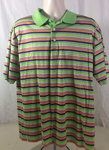 BUGATCHI-UOMO-POLO-MULTI-COLOR-STRIPE-RUGBY-SHORT-SLEEVE-SHIRT