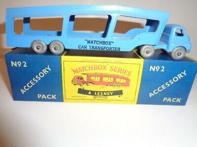Repro box Matchbox Accessory Pack nº 2 car Transporter