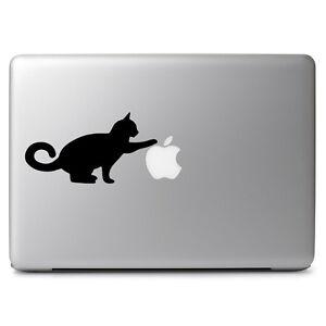 Curious-Cat-Apple-Kitty-Pet-for-Macbook-Air-Pro-Laptop-Car-Vinyl-Decal-Sticker