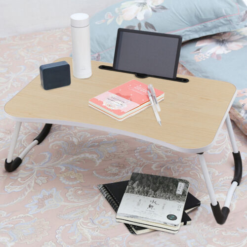 Laptop Stand Folding Computer Desk Table Sofa Bed Notebook Lap Tray Phone Holder