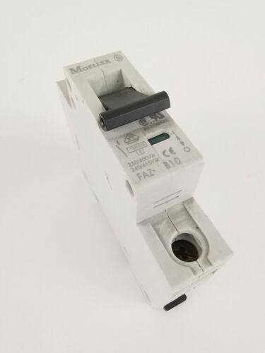 Klöckner Moeller FAZ B10 Leitungsschutzschalter 1-polig Sicherungsautomat